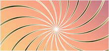 Abstract Background With Rays Sunburst