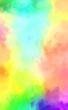 2D illustration of colorful brush strokes. Decorative texture painting. Vibrant paint pattern backdrop.