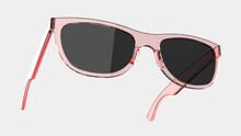 Sun Glasses Isolated On Background. 3d Rendering - Illustration