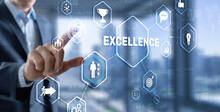 Business Excellence Concept. Pursuit Of Excellence 2021.