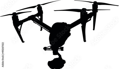 Fotografía Drone, unmanned aerial vehicle, robot, camera