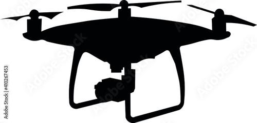 Cuadros en Lienzo Drone, unmanned aerial vehicle, robot, camera