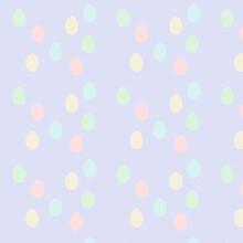 Cuddles - Ostereier Ergänzender Hintergrund Textur Zur Knuddeligen Tiersammlung Striche Und Punkte Auf Lila Zart Mädchen Und Jungs Für Hase Lara