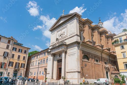 Canvastavla ローマ市内の風景