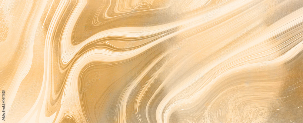 Fototapeta abstract gold liquid luxury marble background