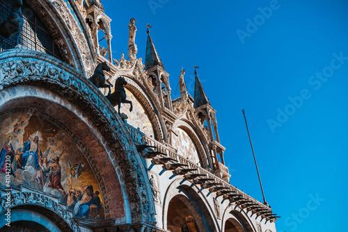 Cuadros en Lienzo St Mark's Campanile in Venice, ITALY