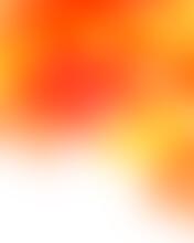 Orange Abstract Blurred Gradients Background