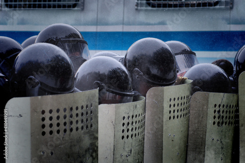 Photo People took to the streets to protest against the arrest of opposition politicia