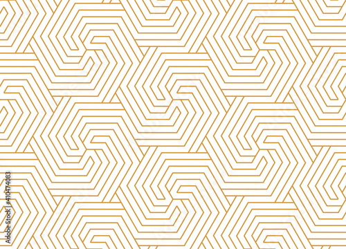 Fotografering Abstract geometric pattern with stripes, lines