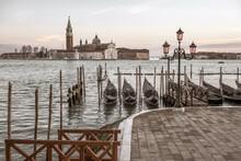Venezia, Bacino San Marco E Chiesa Di San Giorgio