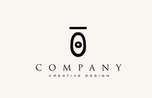 O Vintage Abstract Alphabet Letter Icon Logo. Design For Lettering And Corporate Identity. Professional Elegant Template