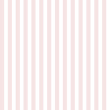 Bright Pink Stripes On White Background. Bright Pink And White Striped Seamless Pattern. Print For Cloth Design, Textile Fabric, Wallpaper, Wrapping, Tile