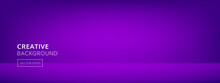 Modern Abstract Gradient Purple Room Banner Background