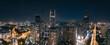 City night view of Huizhou City, Guangdong Province, China