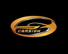 Auto Detailing Logo Concept. Cars Dealers Vector Logo Design Illustration