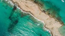 Drone Footage Of Beautiful Ibiza.