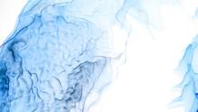 Pale Shibori Designs. Watercolor Abstract Bright.
