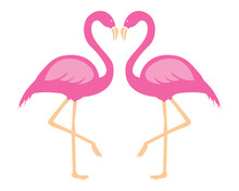 Flamingo SVG , Flamingo Clip Art , Pink Flamingo Vector, Cute Summer SVG,Flamingo Silhouette, Digital File Download