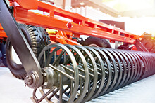 Rollers On Disc Harrow For Agricultural Business