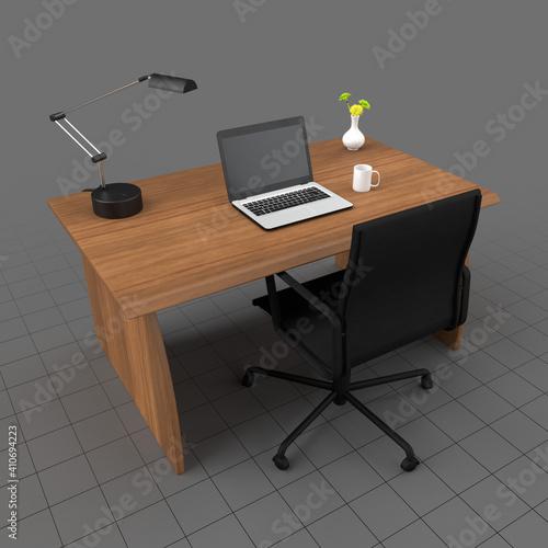 Fototapeta Desk set obraz