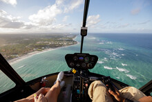 Winter Getaway To Summer Time In Punta Cana Dominican Republic Flying In A Helicopter