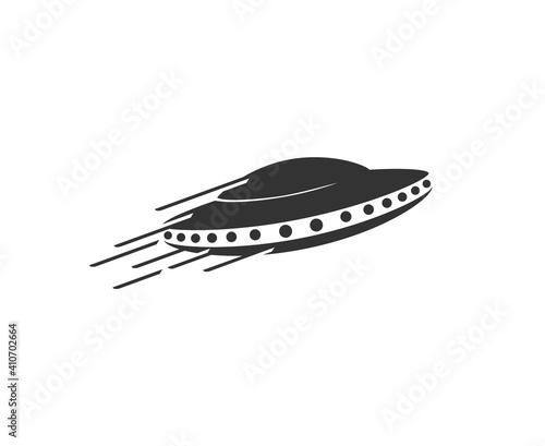 Photo Creative design of spaceship illustration