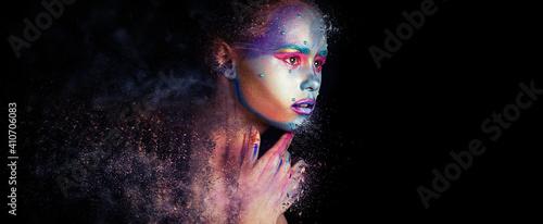 Foto Creative Bright Makeup, Face Art