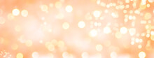 Abstract Bokeh Background - Christmas Banner