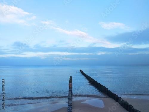 Morze i niebo - fototapety na wymiar