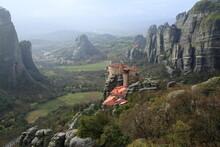North Greece Kalampaka Meteora Monasteries