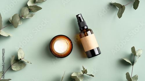 Tela SPA cosmetics products branding mockup