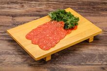 Italian Spycy Pepperoni Sausage Slices