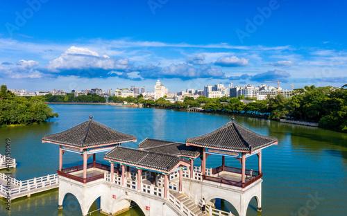 Obraz na plátně West Lake scenic spot, Huizhou City, Guangdong Province, China