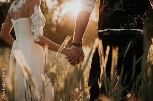 Fotografia bride and groom