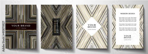 Fotografie, Obraz Modern cover design set
