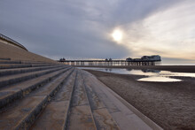 Blackpool North Pier And Sea Wall