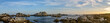 canvas print picture - Panoramic View Of Sea Against Sky