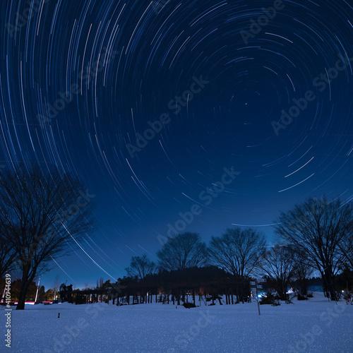 Slika na platnu 北極星の見える夜
