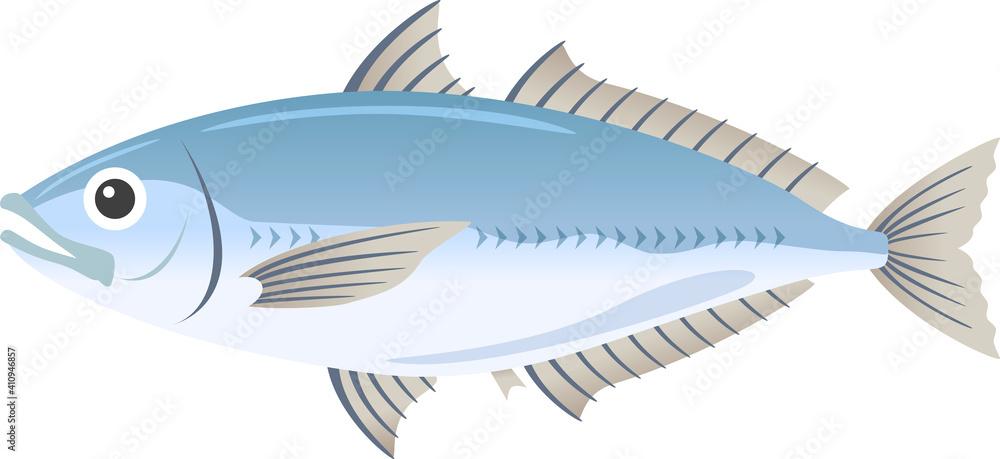 Fototapeta アジ 魚介類 生き物