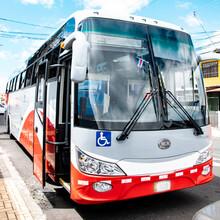 Bus De Transporte Colectivo En Costa Rica