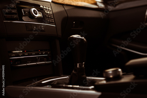 фотография Beautiful and clear interior details of the Mercedes E-Class