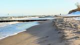 Fototapeta Fototapety z morzem do Twojej sypialni - Kołobrzeg. Park wschodni nad brzegiem Bałtyku.
