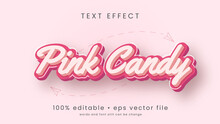 Cartoon Style Text Effect Design With Editable Text.