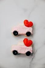 Valentine's Day Pink Sugar Cookies