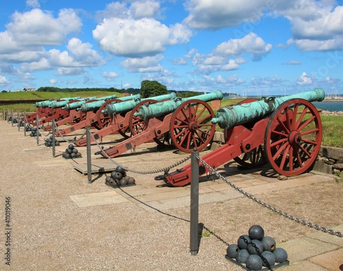 Valokuva cannon at the fortress