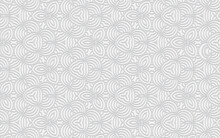 Complex Volumetric Convex Pattern 3d Ethnic Geometric White Background In Doodling Style For Wallpaper, Presentations.