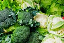Fresh Vegetable Market Selection In Ecuador, South-America