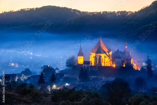 Canvas Biertan, Romania - Saxon church in Transylvania