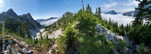 Fototapeta mountain in the sky obraz