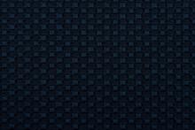 Textura Tela Dinasty Tejido Color Azul Oscuro
